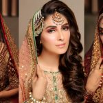 Beautiful Bridal Make Up Shoot of Ayeza Khan for Zaras Salon