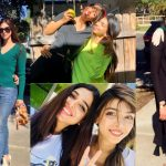Beautiful Photos of Sonya Hussyn with her Sister in USA
