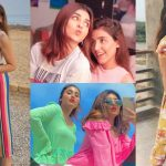 Beautiful Latest Clicks of Actress Anumta Qureshi with her Sister Misbah