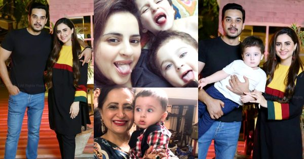 Fatima and Kanwar Latest Pictures with Their Family