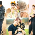 Latest Photos of Sham Idrees With His Daughters And Wife