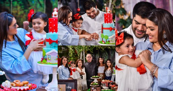 HD Throwback Pictures of Sanam Jung Daughter Alaya 1st Birthday Party