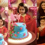 Actress Madiha Rizvi Daughter Hooriya 5th Birthday Pictures
