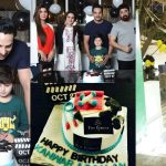 Beautiful Birthday Pictures of Actor Kanwar Arsalan with Family
