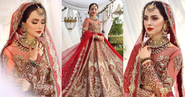 Actress Nimra Khan is Looking Gorgeous in her Latest Bridal Shoot