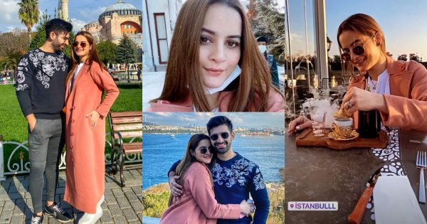 Aiman Khan and Muneeb Butt in Turkey – Day 2 Pictures
