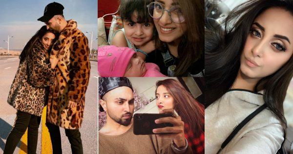 Latest Pictures of Sanam Chaudhry with her Husband