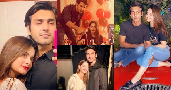 Minal Khan Pictures with her Friend Ahsan Mohsin Ikram
