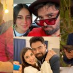 Beautiful Clicks of Iqra Aziz and Yasir Hussain from Birthday Dinner Date