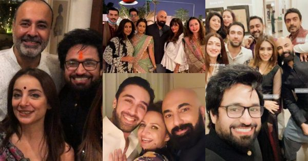 Beautiful Pictures from Diwali Party Hosted By Deepak Perwani