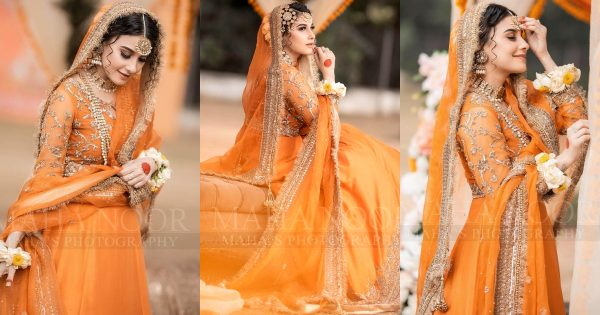 Hina Altaf Bridal Shoot for Royli Salon