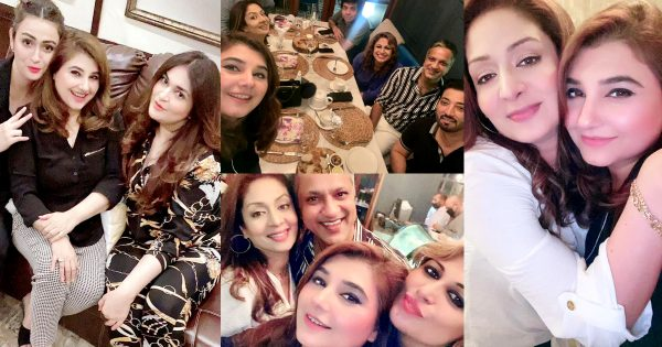 Latest Clicks of Javeria Saud From her Friends Birthday Party