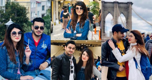 Beautiful Photos of Actress Alizeh Tahir Pictures with her Husband