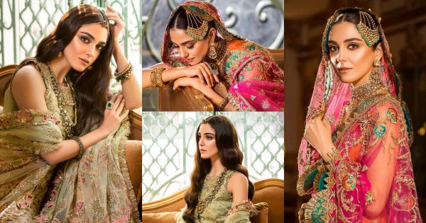Maya Ali Looks Stunning in her Shoot for Sadia Asad