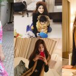 Actress Fatima Sohail with her Son – New Pictures
