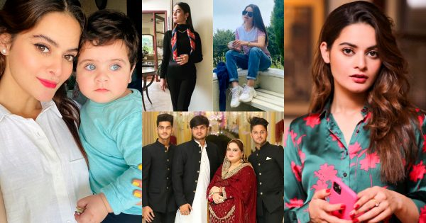 Minal Khan with her Family – Latest Beautiful Clicks