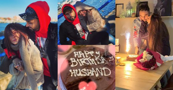 Sanam Chaudhry Celebrated her Husband Birthday
