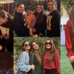 Aiman Khan and Minal Khan Celebrated their Birthday with Family