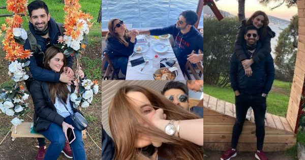 Aiman Khan and Muneeb Butt in Turkey – Day 3 Pictures