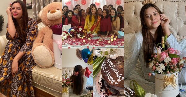 Birthday Pictures of Anchor Rabia Anum