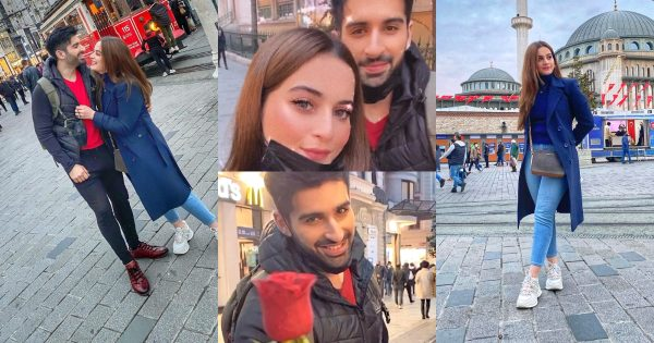 Aiman Khan and Muneeb Butt in Turkey – Day 1 Pictures