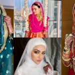 Bollywood Actress Sana Khan Beautiful Clicks from her Wedding