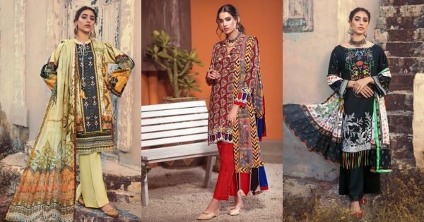 Ideas Winter Collection 2020 by Gul Ahmed