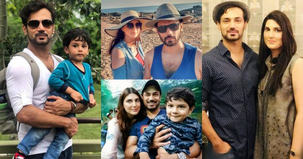Actor Zahid Ahmed with his Family – Beautiful Latest Pictures
