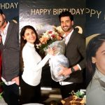 Agha Ali Celebrated his Birthday with wife Hina Altaf