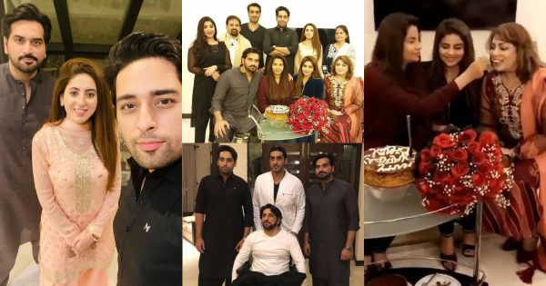 Humayun Saeed Celebrating Birthday of his Wife Samina – Beautiful Pictures