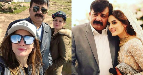 Actresses Aiman Khan and Minal Khan Father Passed Away