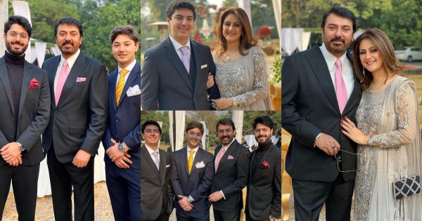 Latest Family Pictures of Noman Ijaz from Recent Wedding