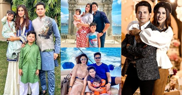 Anchor and Host Aden Rehan Beautiful Family Pictures