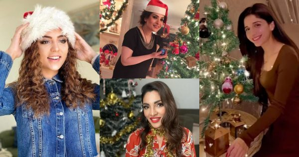 Beautiful Christmas Celebration Pictures of Pakistani Celebrities