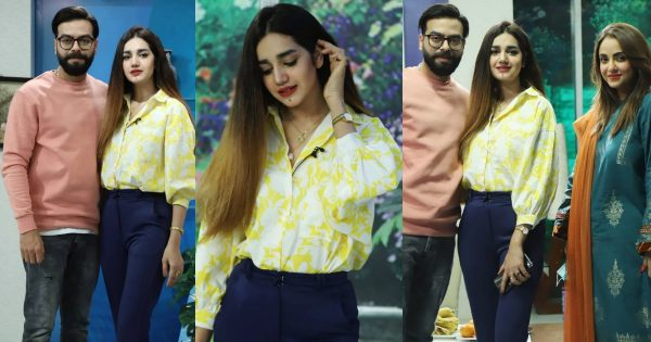 Beautiful Pictures of Anum Fayaz with Her Husband from Nadia Khan Show