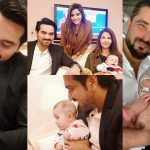 Humayun Saeed Shared Beautiful Pictures with Hamza Ali Abbasi Son Mustafa Abbasi