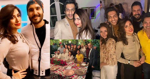 Pakistani Celebrities Spotted at Christmas Party – Beautiful Pictures