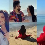 Sarah Khan and Falak Shabbir Latest Clicks from Beach