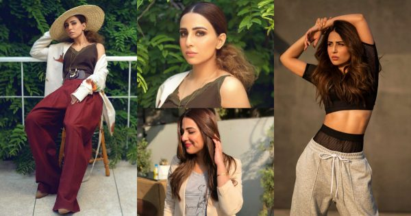 Ushna Shah Picture Collection in Western Outfits