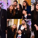 Javeria and Saud with Family in Nida Yasir Morning Show