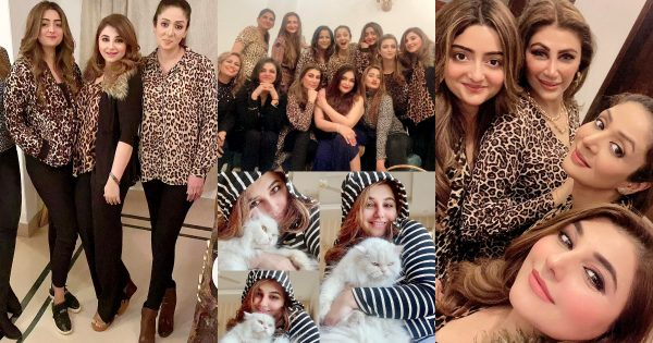 Javeria Saud Pictures from Birthday Party of her Friend