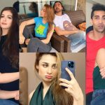 Actress Mashal Khan Birthday Pictures with Friends