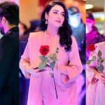 Sarah Khan with Husband Falak Shabir Pictures at Centaurus Mall