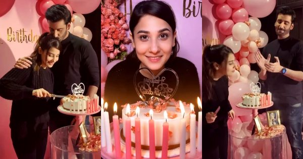 Agha Ali Celebrated Hina Altaf Birthday – Beautiful Clicks