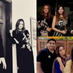 Nadia Khan with her Husband Spotted At Dr Wajahat's Wedding Anniversary