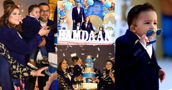 Famous Chef Samia Jamil Son Grand Birthday Party Pictures