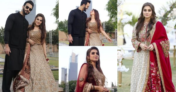 Latest Pictures of Komal Baig with her Husband