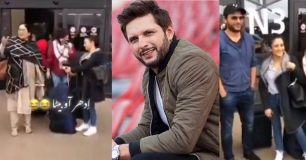 Funny Video of Desi Aunty Fails To Recognize Shahid Afridi