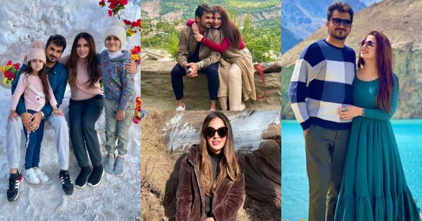 Fashion Designer Faiza Saqlain Vacationing With Family – Beautiful Pictures