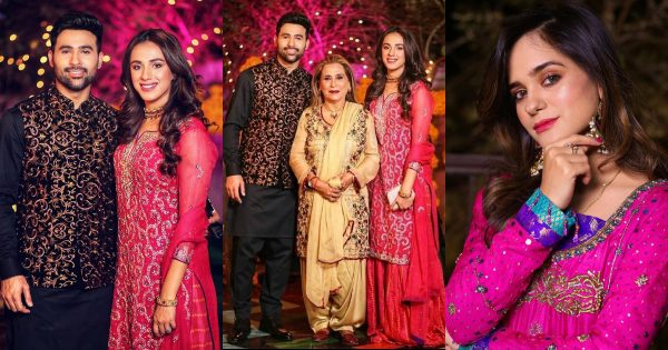 Faizan Sheikh with his Family at a Wedding Event